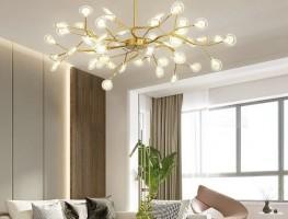 Mua đèn chùm ốp trần phòng khách tốt nhất ở đâu?