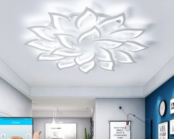 Đèn led trang trí phòng khách trọn bộ chỉ với 5 triệu
