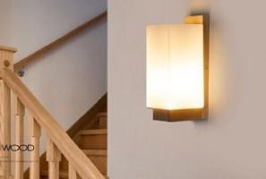 Đa dạng các loại đèn ốp tường cầu thang