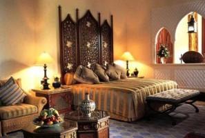 Phong cách thiết kế nội thất kết hợp với đèn trang trí phòng ngủ