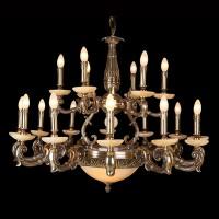 Không gian cuốn hút với các mẫu đèn chùm phong cách tân cổ điển