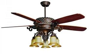 Tìm hiểu thông tin sản phẩm quạt trần đèn chùm có mát không?