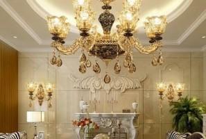 Xu hướng chọn đèn chùm phòng khách đẹp năm 2020