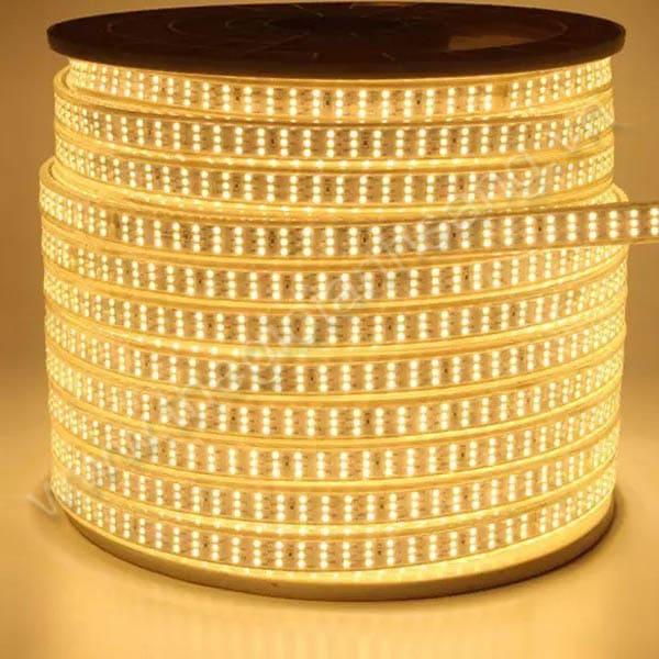 Led cuộn 100m 5730 3 đường bóng màu vàng HP9-5730/3