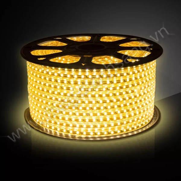 Led cuộn 100m 5730 2 đường bóng màu vàng HP9-5730/2