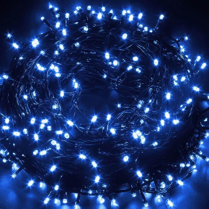 Led dây chớp nháy cao cấp màu xanh dương