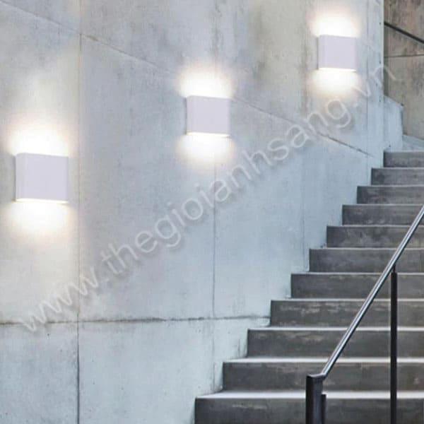 Đèn hắt tường L100xH100mm DC9-VNT051S-TRẮNG