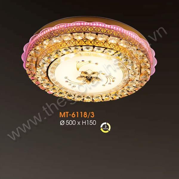 Đèn mâm áp trần LED Ø500mm VA20-MT6118/3