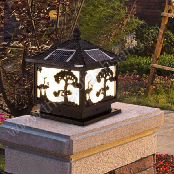 Đèn trụ năng lượng mặt trời Ø300mm EC20-Solar22