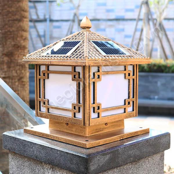 Đèn trụ năng lượng mặt trời Ø400mm EC20-Solar33