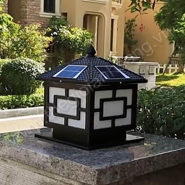 Đèn trụ năng lượng mặt trời Ø300mm HP20-TNL08