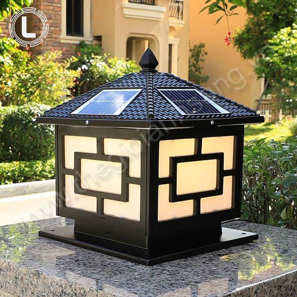 Đèn trụ năng lượng mặt trời Ø400mm HP20-TNL09