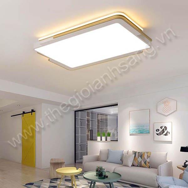 Đèn mâm áp trần LED L1100mm DC20-OT75CN-TRẮNG