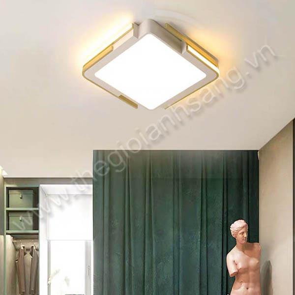 Đèn mâm áp trần LED Ø500mm DC20-OT75V-TRẮNG