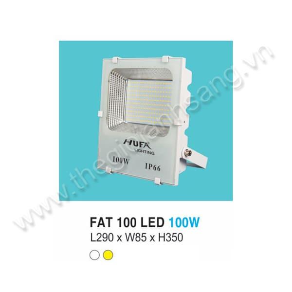 Đèn pha LED 100W HP8-FAT100
