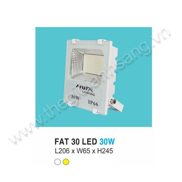 Đèn pha LED 30W HP8-FAT30