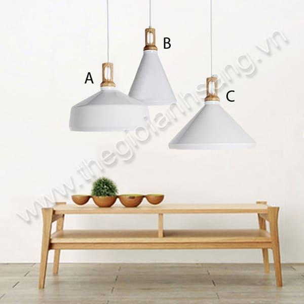 Đèn thả bàn ăn đơn (A, B, C) PH20-THCN77