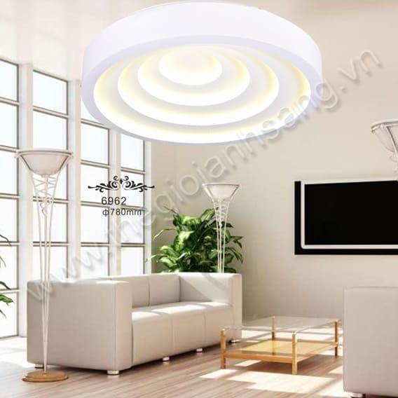 Đèn mâm áp trần LED hiện đại Ø550mm RS9-6962/550 - Trưng bày