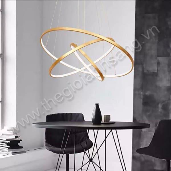 Đèn thả LED 3 chế độ màu 3 vòng Ø700mm PH9-TH816B-18