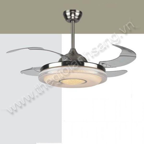 Đèn chùm quạt trần Ø500mm VA9-QT2619