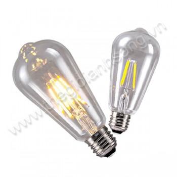 Bóng đèn LED edison ST64/4w