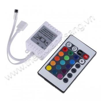 Đầu ghim dây led điều khiển đổi màu