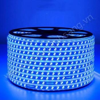 Led cuộn 100m 5730 2 đường bóng màu xanh dương HP9-5730/2