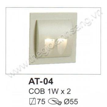 Đèn âm tường, cầu thang LED 2W EC8-AT04