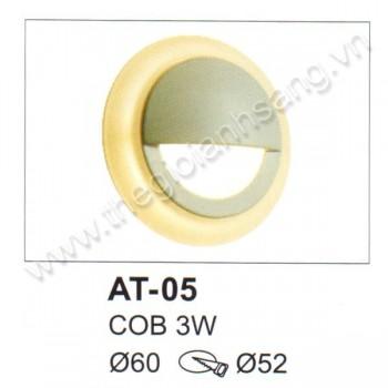 Đèn âm tường, cầu thang LED 3W EC8-AT05
