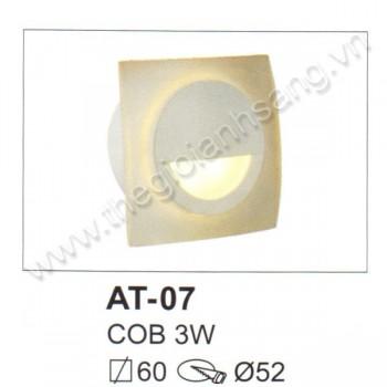 Đèn âm tường, cầu thang LED 3W EC8-AT07