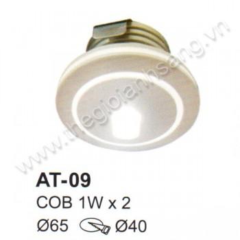 Đèn âm tường, cầu thang LED 2W EC9-AT09