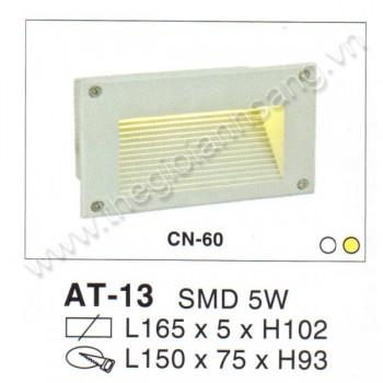 Đèn âm tường, cầu thang LED 5W EC8-AT13