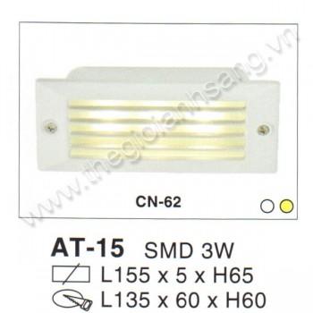 Đèn âm tường, cầu thang LED 3W EC8-AT15