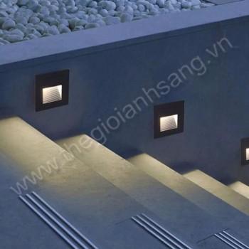 Đèn âm tường, cầu thang LED 3W EC9-AT18
