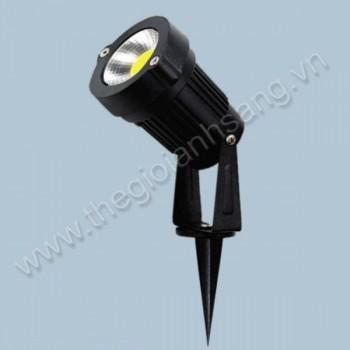 Đèn rọi bãi cỏ LED 5W 3 màu AN8-PC3781