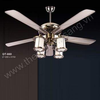 Đèn quạt trần Ø1200mm VA8-QT660