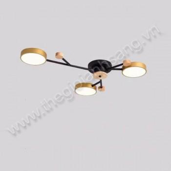 Đèn mâm áp trần LED L800mm HP20-CY8627/3