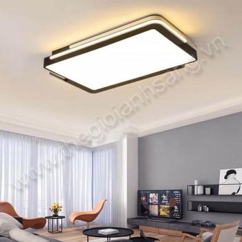 Đèn mâm áp trần LED L1100mm DC20-OT75CN-ĐEN