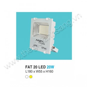 Đèn pha LED 20W HP8-FAT20