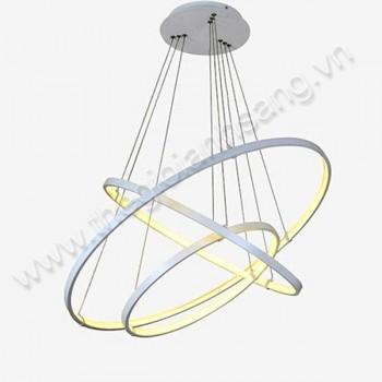 Đèn thả LED 3 chế độ màu 3 vòng Ø800mm PH8-TH814