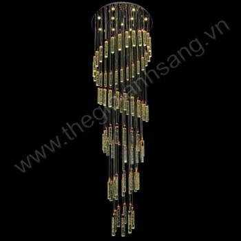 Đèn thả thông tầng Ø800xH2700mm HP9-TL88855/86