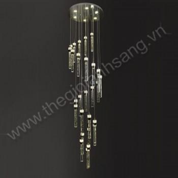 Đèn Thả Thông tầng led Ø500xH2500mm VA9-TPL88070/27+6