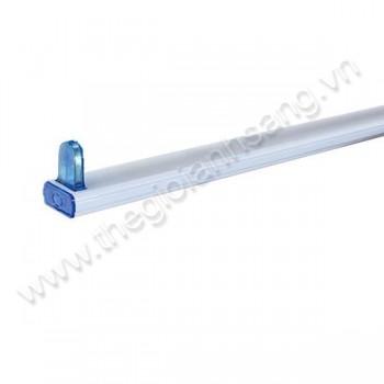 Máng đèn tuýp đơn T8 1m2 HP8-MANGT8