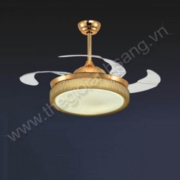 Đèn chùm quạt trần Ø500mm VA9-QT87087