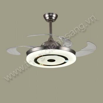 Đèn chùm quạt trần Ø500mm VA9-QT88601