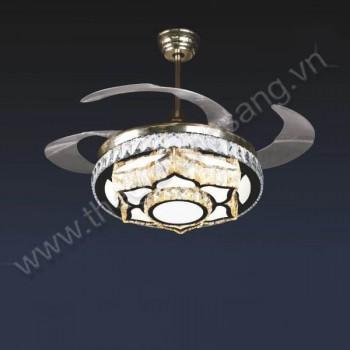 Đèn chùm quạt trần Ø500mm VA9-QT9046