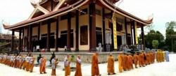 Đại điện Thiền viện Trúc Lâm Hàm Rồng Thanh Hóa